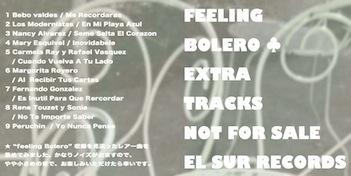 FEELING BOLERO EXTRA1