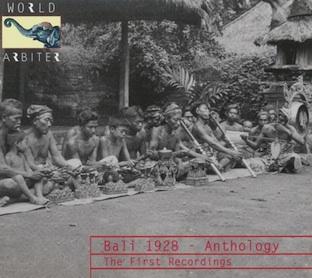 BALI1928TheFirstRecordings