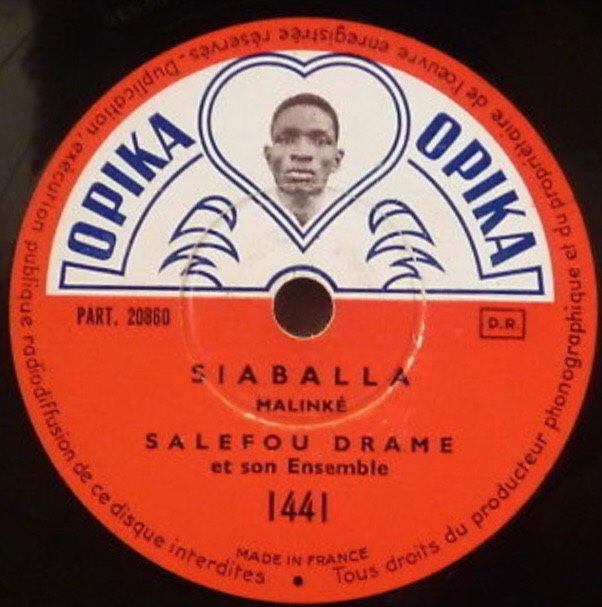 SP盤で聞くアフリカ音楽